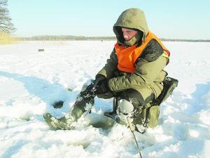 выход на лед опасен